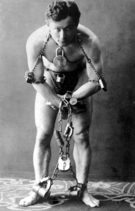 Harry Houdini in 1899, courtesy of Wikipedia