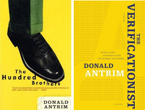 Everyone should read Donald Antrim. He's a contemporary master of the fantastic. His novels include: Elect Mr. Robinson for a Better World, The Hundred Brothers, The Verificationist