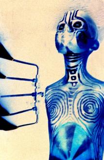 robotic alien